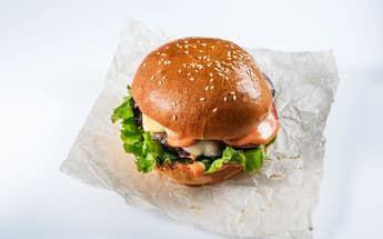 Бургер с говяжьей котлетой 310 гр